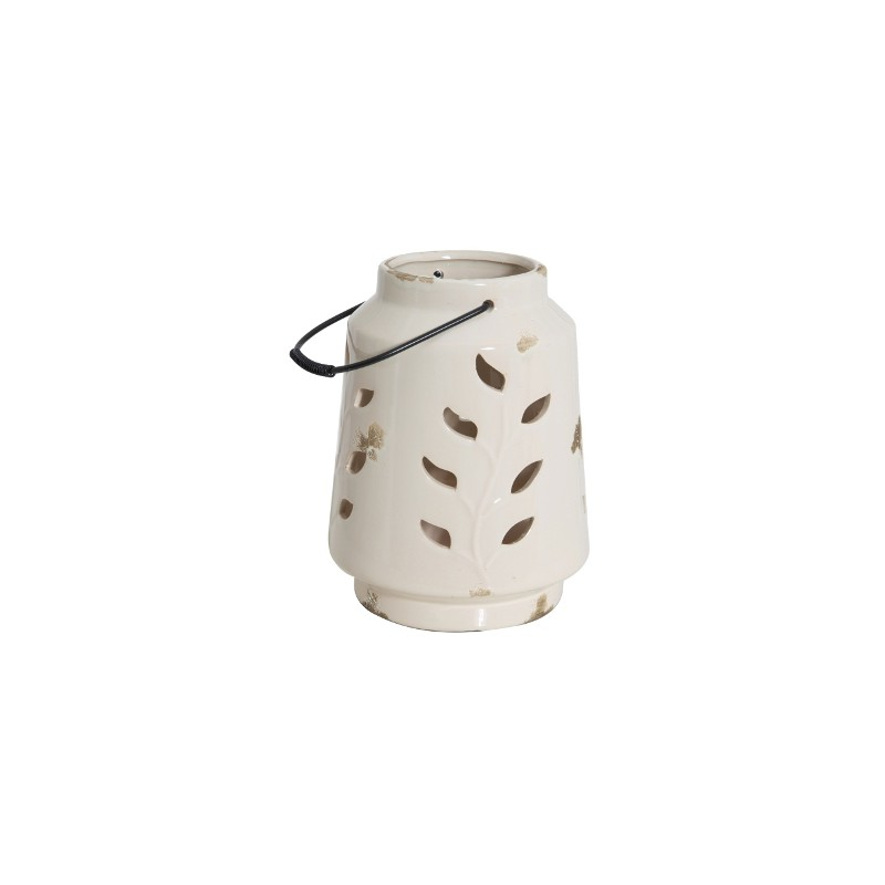 Ceramiczny lampion White Ceramic