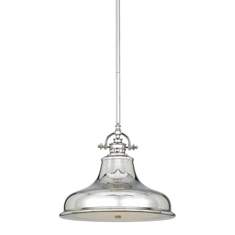 Ekskluzywna niklowana lampa kuchenna Ø 34