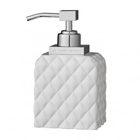Pikowany biały dozownik na mydło Lenne Bjerre