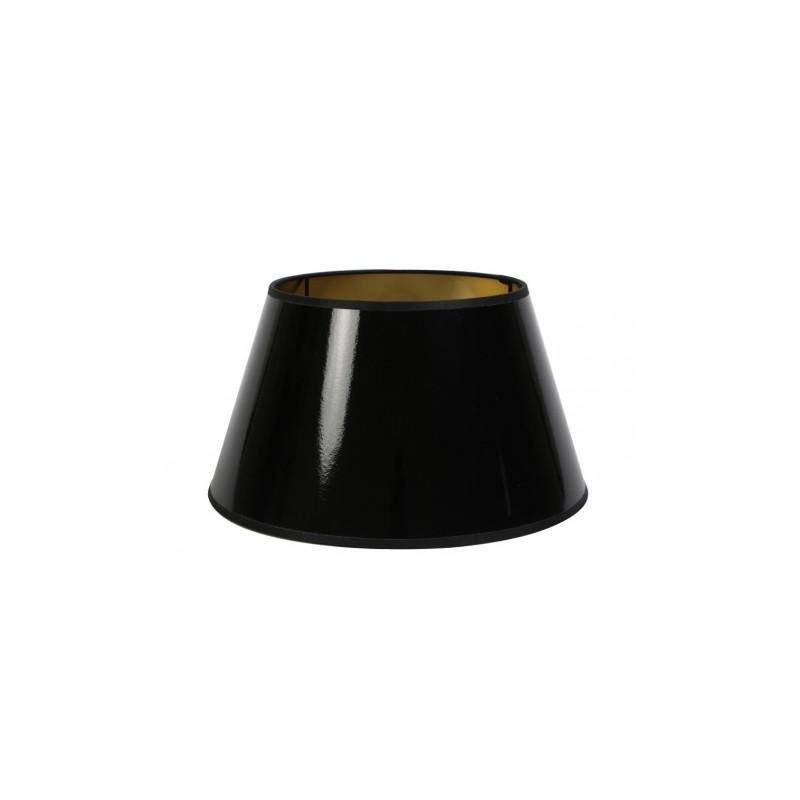 Czarny lakierowany abażur 35 lampa podłogowa