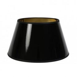 Czarny lakierowany abażur Ø 25 lampa stołowa