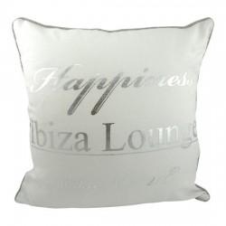 Biała poduszka ozdobna do salonu Ibiza Lounge 40X40