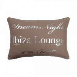 Beżowa poduszka ozdobna do salonu Ibiza Lounge 30x45