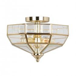 Szklany plafon sufitowy Hight Style złoty połysk