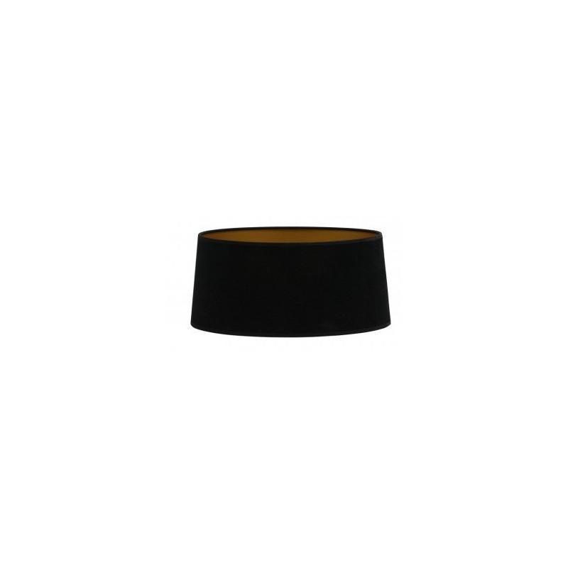 Czarny welurowy abażur Ø 35 lampa stołowa