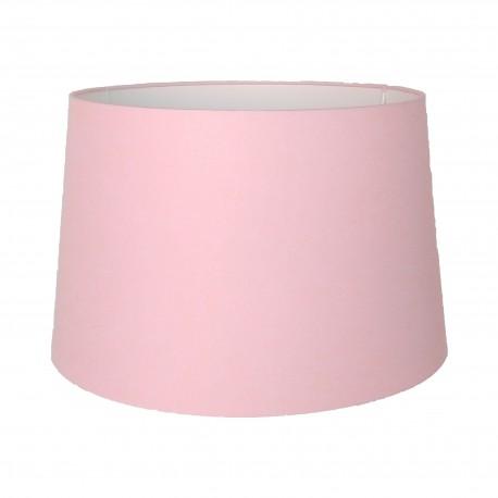 Abażur cukierkowy róż do lampy stołowej lub podłogowej Ø 35