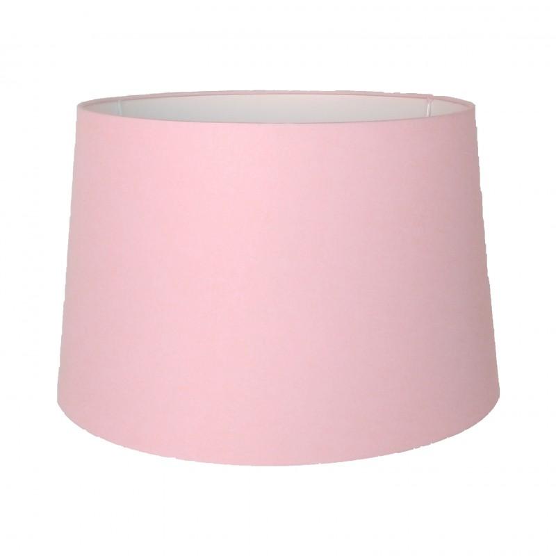 Abażur Ø 35 pudrowy róż do lampy stołowej lub podłogowej