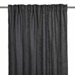 Czarna zasłona do salonu sypialni140x280