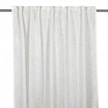 Biała zasłona do salonu sypialni140x280