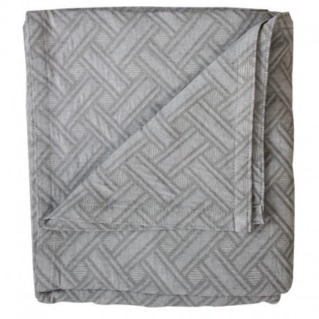 Narzuta na łóżko Modern Dark Grey 240x260