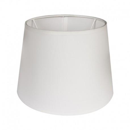 Stynowy biały abażur Ø 20 kinkiet/mała lampa