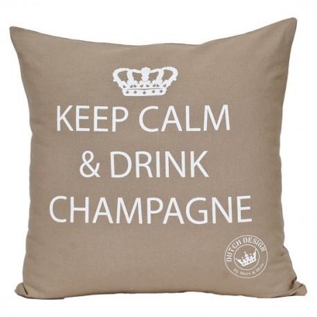 Bawełniana poduszka dekoracyjna Champagne 45X45