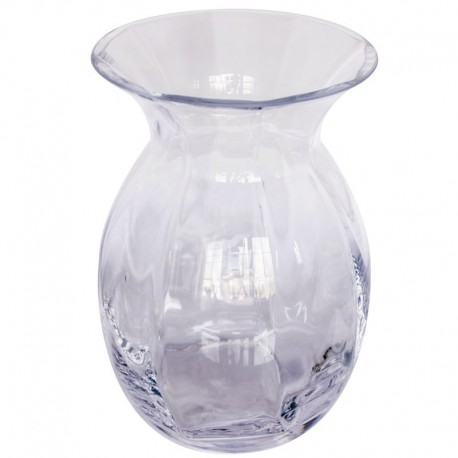 Wazon z przeźroczystego szkła
