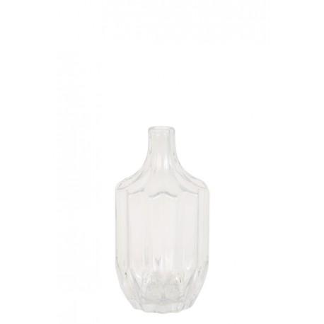 Szklany wazon OLEIROS glass clear