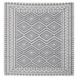 Lene Bjerre dywan Aldine Grey 150cm x 150 cm