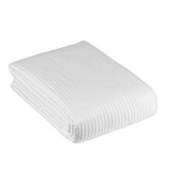 Biała pikowana narzuta na łóżko White Ally 260 x 260
