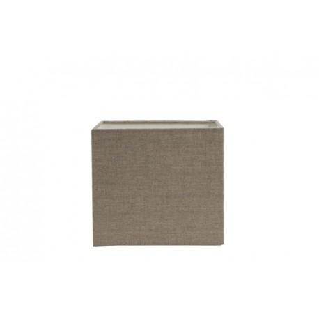 Kwadratowy abażur do lamy stojacej 20x20/naturalny len