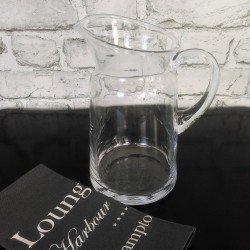 Szklany wazonz grubego szkła/kryształowy połysk