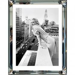 Obraz w lustrzanej ramie 60X50 Marilyn Monroe At the Embassy