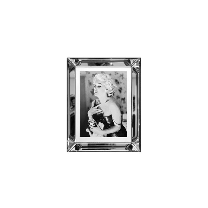 Obraz Z Lustrzanej Ramie Monroe Chanel 70x90 Diga Colmore 129 12 007