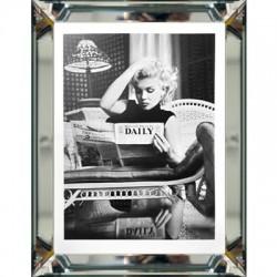 Obaz w lustrzanej ramie Marilyn Monroe in New York