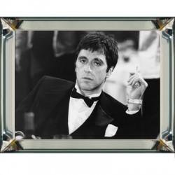 Obraz w lustrzanej ramie Al Pacino 90x70