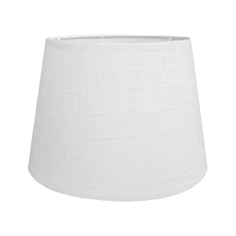 Biały abażur na kinkiet LEN Ø 20(S)