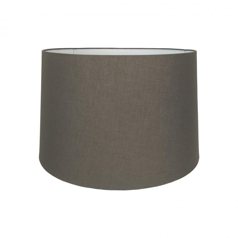Abażur bawełniany Ø 45 do lampy podłogowej Chocolate Brown