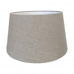 Lniany abażur lampa podłogowa Ø 40 Dark Linen