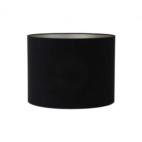 Czarny welurowy abażur Ø 30 na lampę stołową