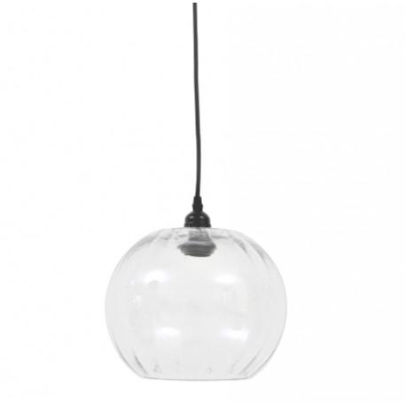 Szklana lampa kula nad wyspę/zlewozmywak