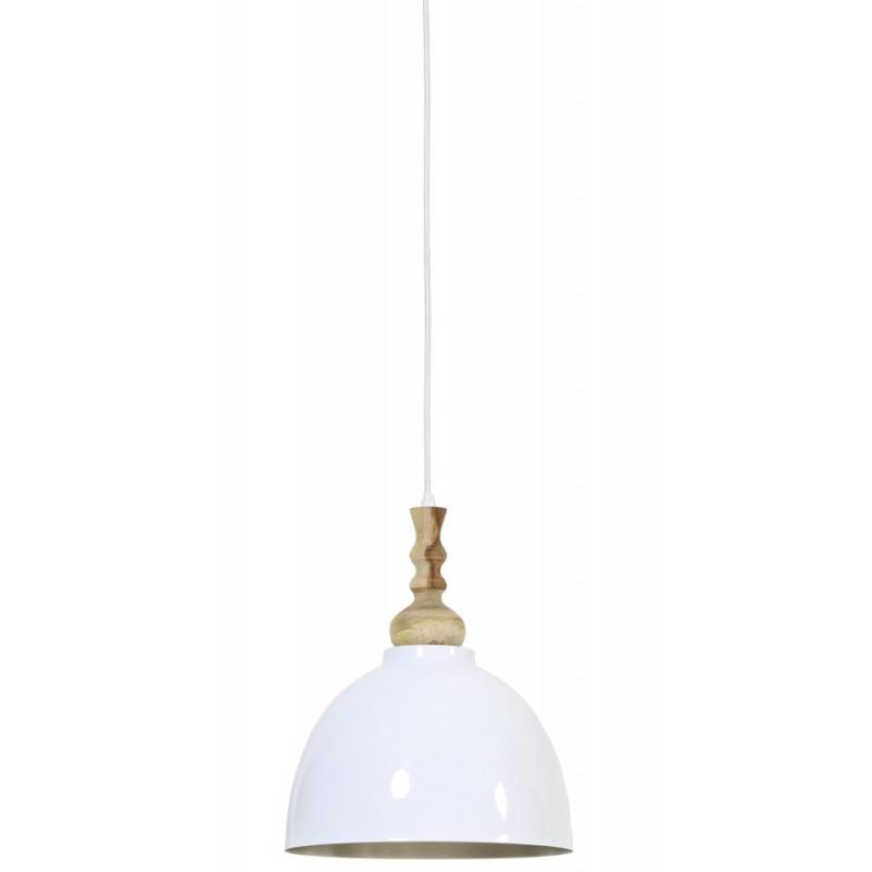 Biała lampa sufitowa/wisząca nad stół/wyspę