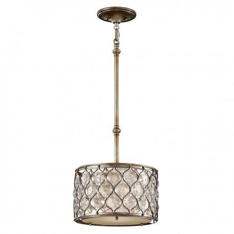 Nowojorska lampa wisząca Ø 32 kryształ/koniczynka