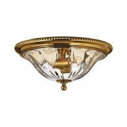 Nowojorski złoty plafon sufitowy z kryształu i mosiądzu