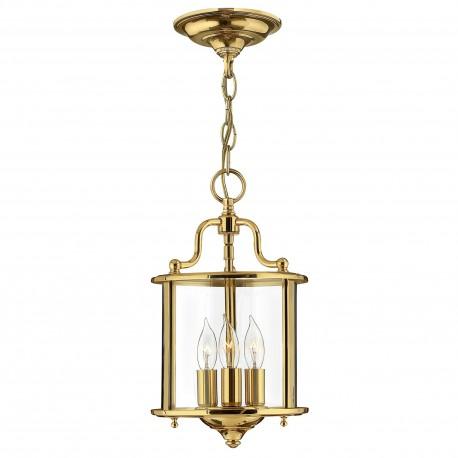 Lampa latarnia do holu, na korytarz. Złoty połysk.