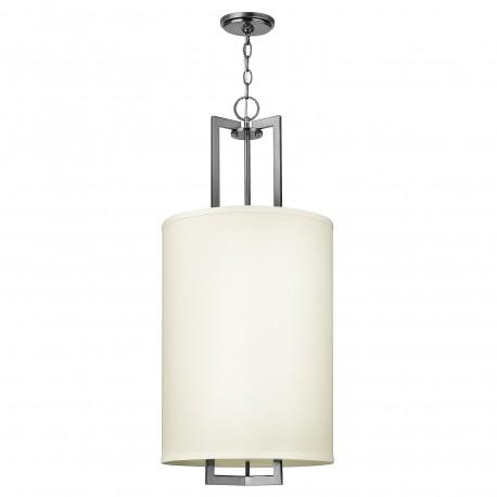 Plafon lampa sufitowa-wisząca z abażurem Hamptons