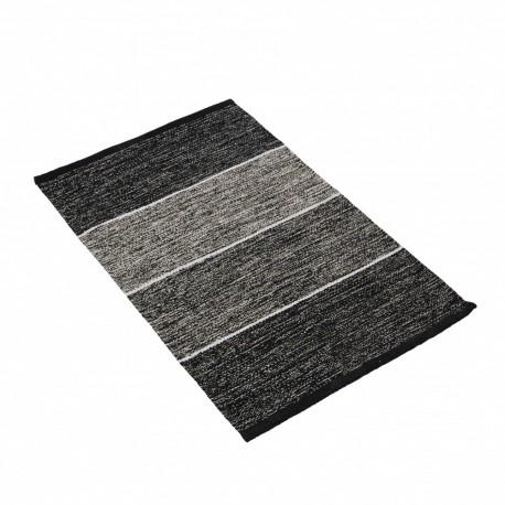 Dwustronny bawelniany dywan160x230 czarno biały