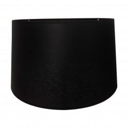 Czarny satynowy abażur lampa podłogowa Ø 45