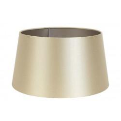 Satynowy abażur Ø 30 lampa stołowa Monaco Gold