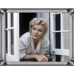Obraz w lustrznej ramie Marilyn Monroe 70x90
