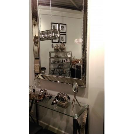 Lustro w ramie lustrzanej do salonu przedpokoju 93x122