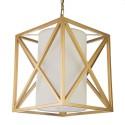 New York złota lampa wisząca do salonu/sypialni
