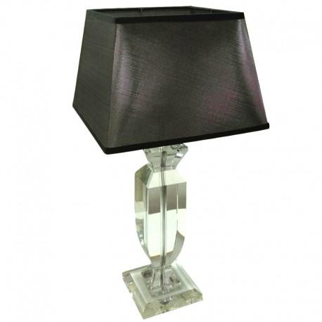 Kryształowa lampa na konsolę h42 styl New York, Hollywood