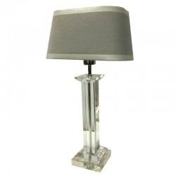 Kryształowa lampa na konsolę styl New York, Hollywood