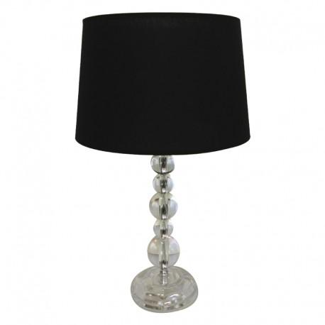 Lampa przeźroczyste kule h36.5 do sypialni New York