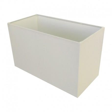 Biały abażur prostokąt lampa stołowa/stojąca modern classic