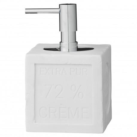 Lene Bjerre biały  nowoczesny dozownik na mydło