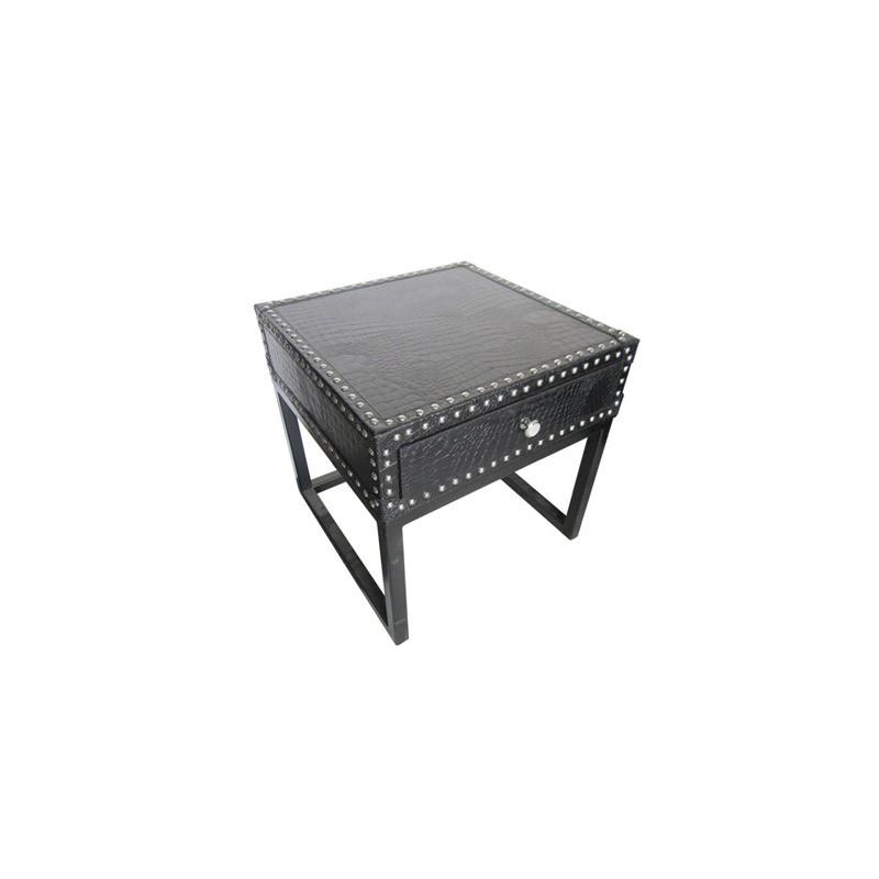 Ekskluzywny stolik nocny- skóra do sypilani Modern Classic