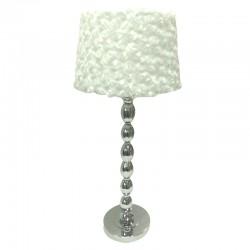 Elegancka lampa stojąca na stolik nocny do sypialni New York