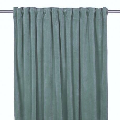 Elegancka aksamitna zasłona 140x280 do salonu lub sypialni